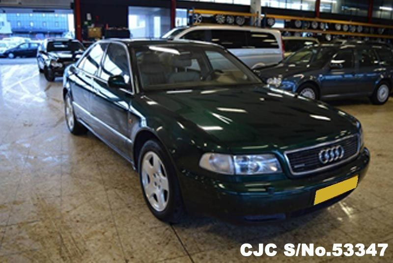 1998 Left Hand Audi A8 Black For Sale Stock No 53347 Left Hand