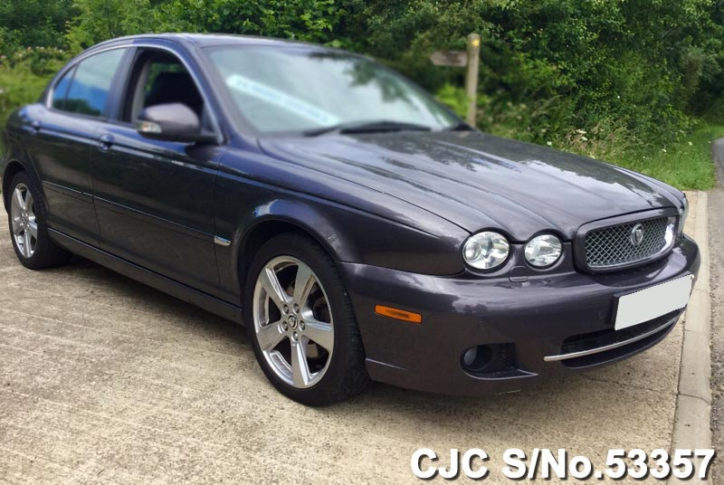 2008 jaguar x type black for sale stock no 53357 japanese used cars exporter. Black Bedroom Furniture Sets. Home Design Ideas