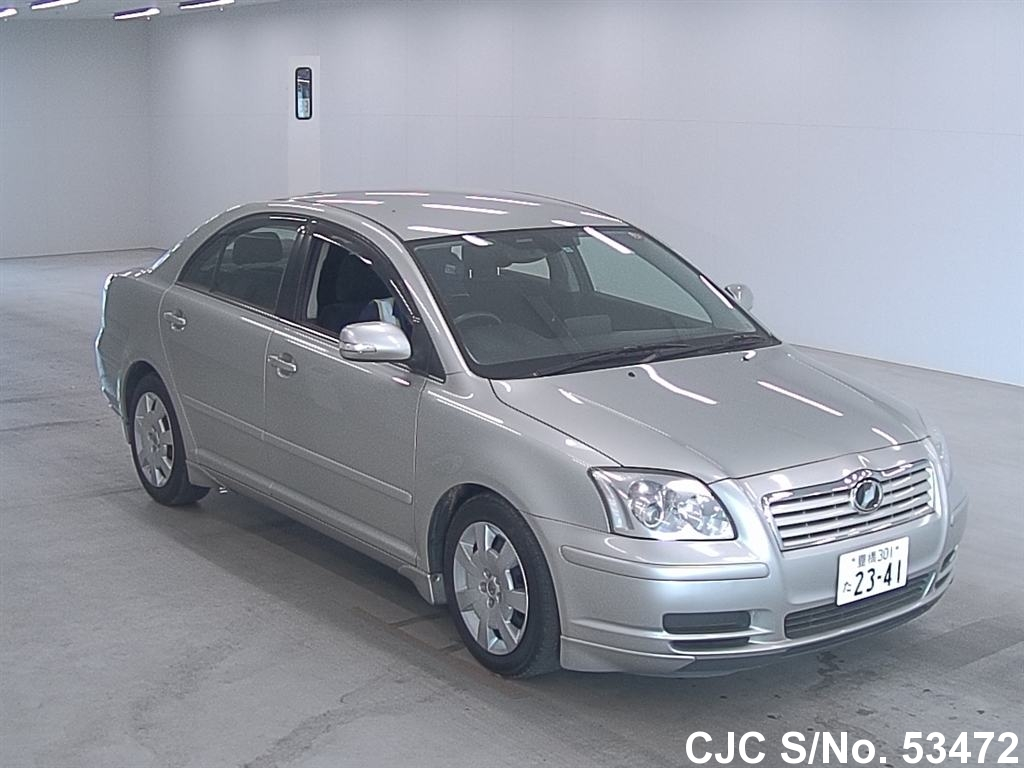 2007 toyota avensis silver for sale stock no 53472. Black Bedroom Furniture Sets. Home Design Ideas