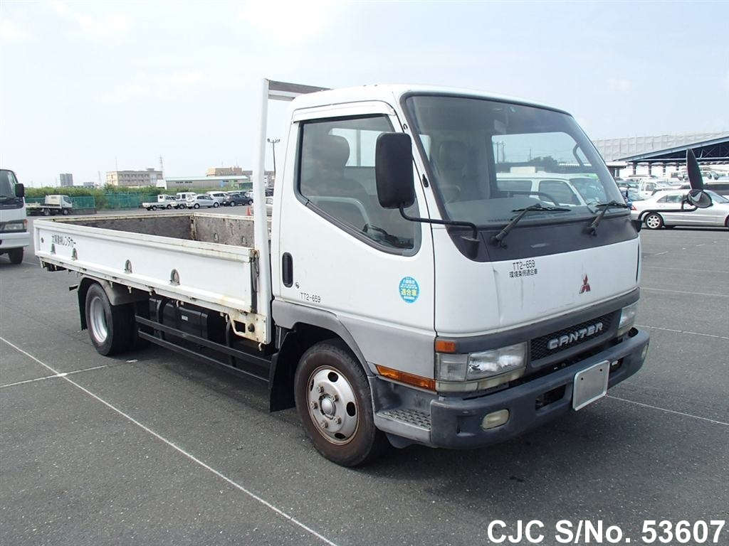 2001 mitsubishi canter truck for sale stock no 53607 japanese used cars exporter. Black Bedroom Furniture Sets. Home Design Ideas