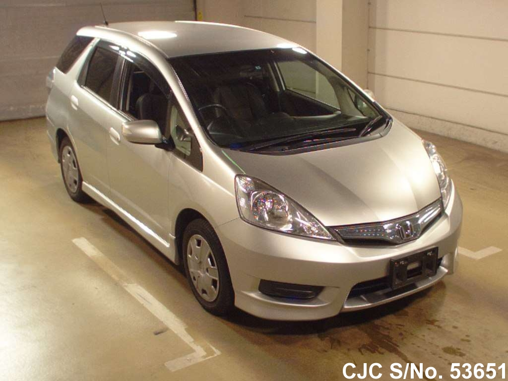 2011 Honda Fit Shuttle Silver For Sale