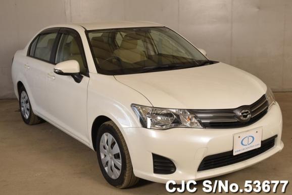 2012 Toyota / Corolla Axio Stock No. 53677