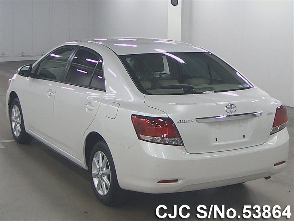 2016 Toyota / Allion Stock No. 53864