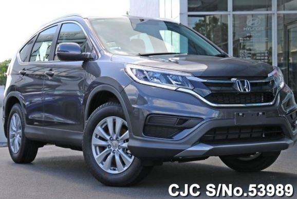 Brand new 2016 honda crv gray for sale stock no 53989 for Gray honda crv