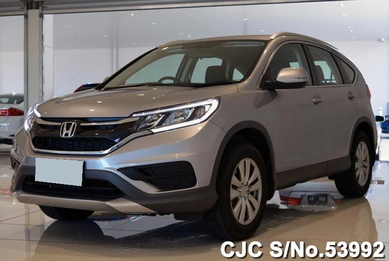 Brand New 2016 Honda CRV Lunar Silver Metallic for sale | Stock No. 53992 | Japanese Used Cars ...