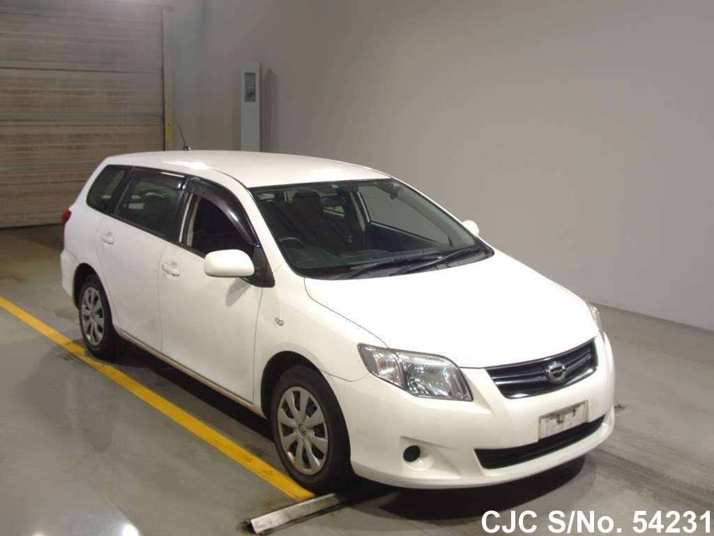 2011 toyota corolla fielder white for sale stock no 54231 japanese used cars exporter. Black Bedroom Furniture Sets. Home Design Ideas