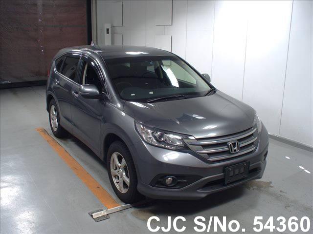 2013 honda crv gray for sale stock no 54360 japanese used cars exporter. Black Bedroom Furniture Sets. Home Design Ideas