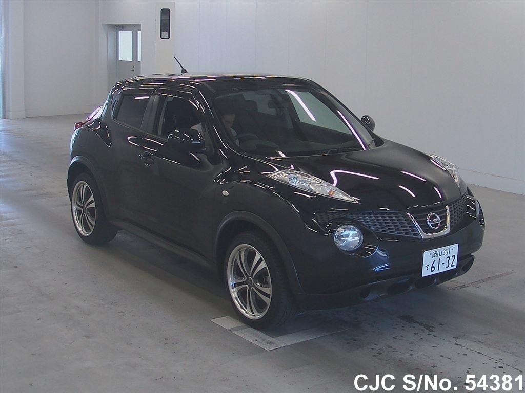 2010 nissan juke black for sale stock no 54381 japanese used cars exporter. Black Bedroom Furniture Sets. Home Design Ideas