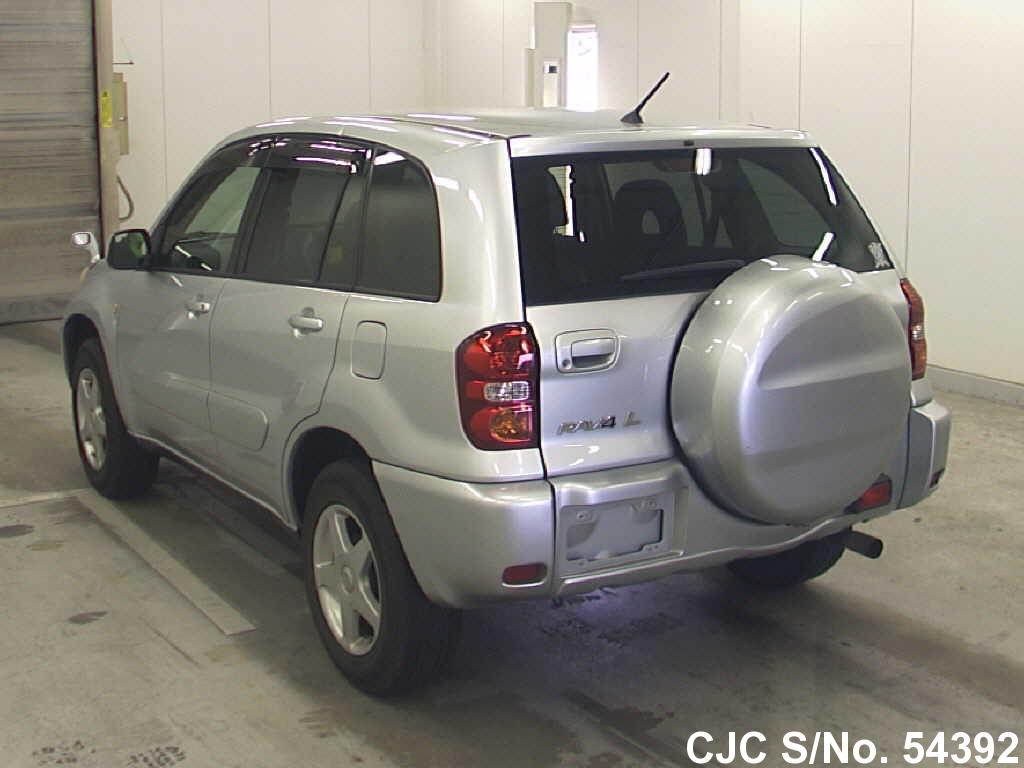 2003 toyota rav4 silver for sale stock no 54392 japanese used cars exporter. Black Bedroom Furniture Sets. Home Design Ideas
