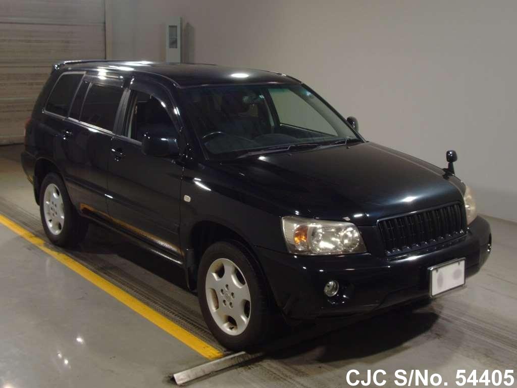 2005 toyota kluger black for sale stock no 54405