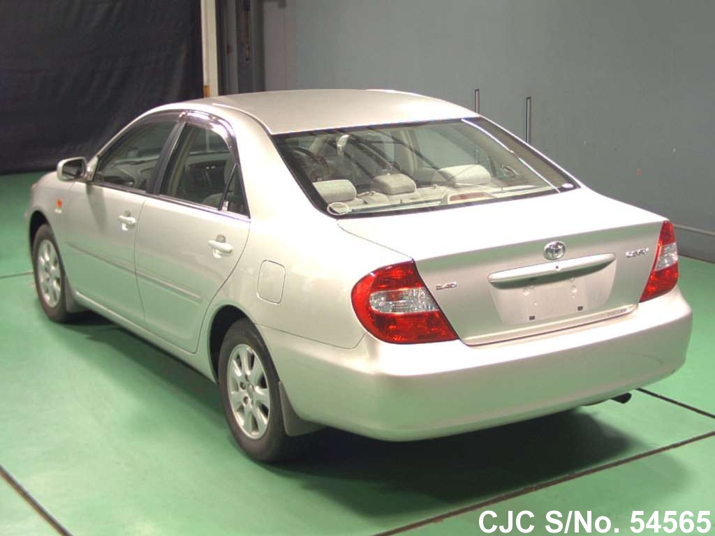 2003 toyota camry silver for sale stock no 54565 japanese used cars exporter. Black Bedroom Furniture Sets. Home Design Ideas