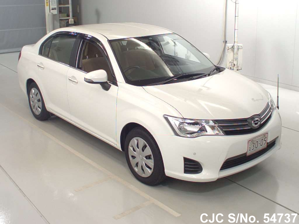 2014 toyota corolla fielder white for sale stock no 54737 japanese used cars exporter. Black Bedroom Furniture Sets. Home Design Ideas