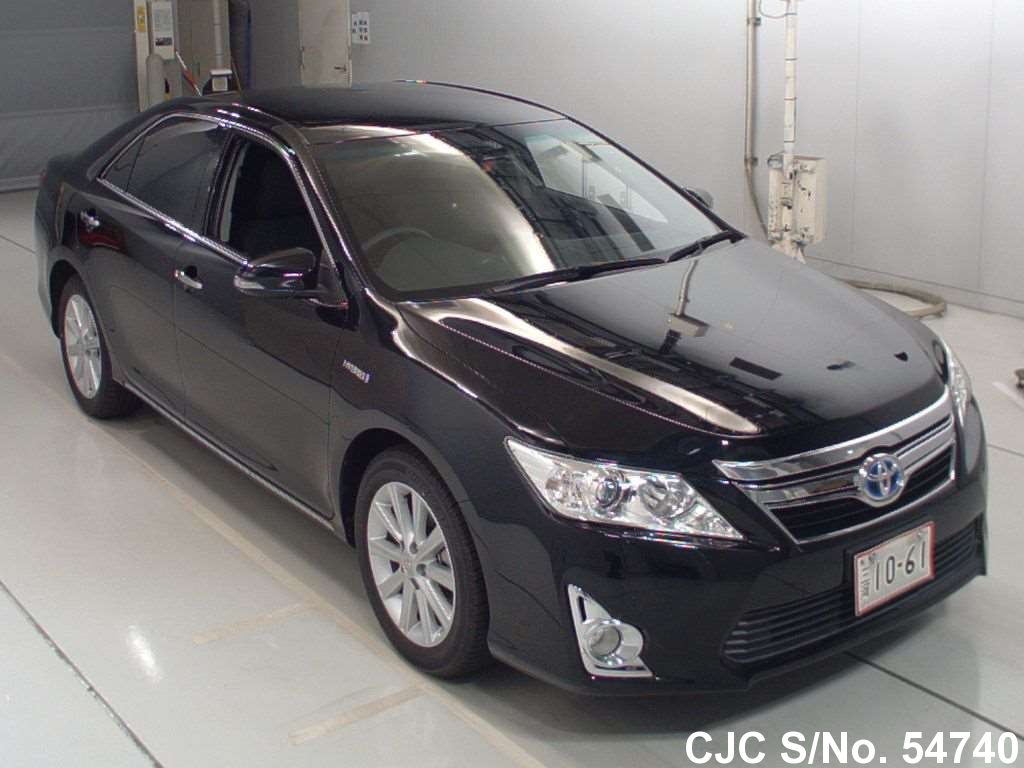 2013 toyota camry black for sale stock no 54740 japanese used cars exporter. Black Bedroom Furniture Sets. Home Design Ideas