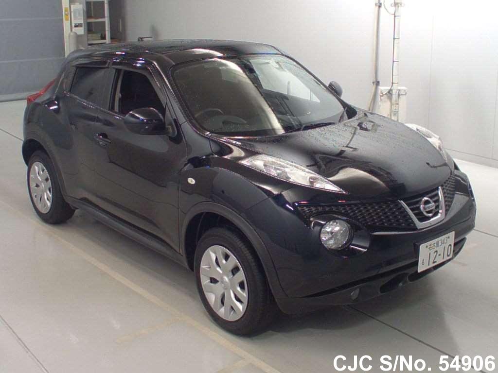 2012 nissan juke black for sale stock no 54906 japanese used cars exporter. Black Bedroom Furniture Sets. Home Design Ideas