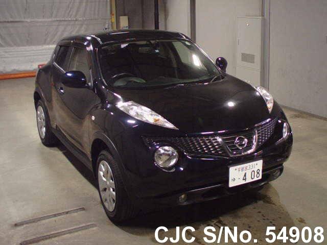 2012 nissan juke black for sale stock no 54908 japanese used cars exporter. Black Bedroom Furniture Sets. Home Design Ideas