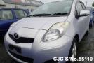 2007 Toyota / Vitz - Yaris Stock No. 55110
