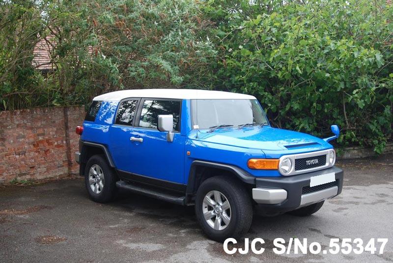 2011 toyota fj cruiser blue for sale stock no 55347 japanese used cars exporter. Black Bedroom Furniture Sets. Home Design Ideas