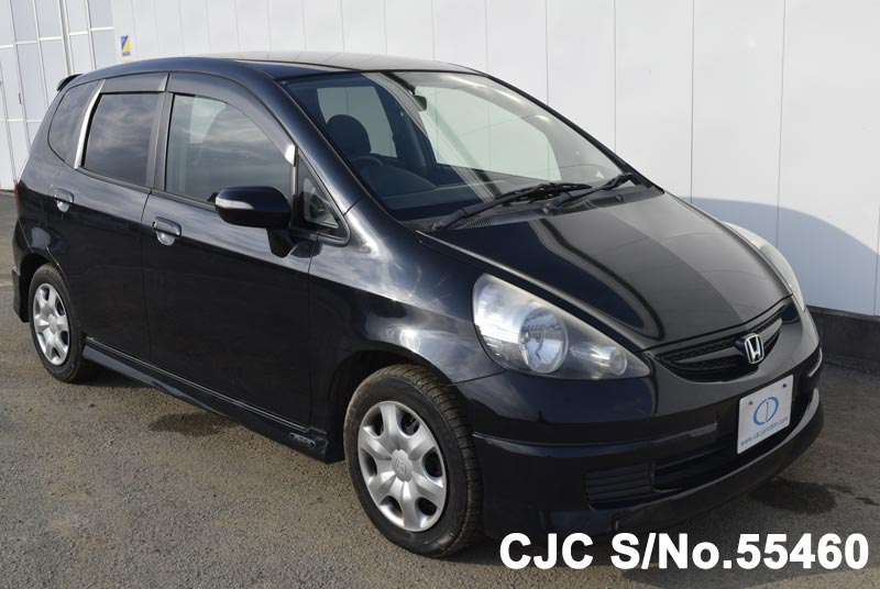 2007 Honda Fit Black for sale | Stock No. 55460 | Japanese ...