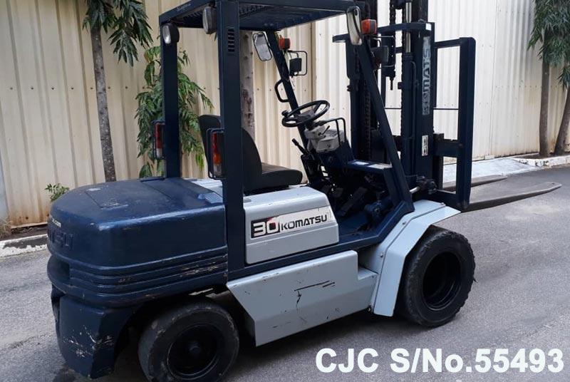 Used Komatsu FD30 Forklift for sale | model | CJC- 55493