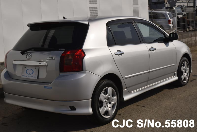 2001 toyota allex silver for sale stock no 55808 japanese used rh carjunction com toyota allex user manual pdf toyota allex 2002 manual