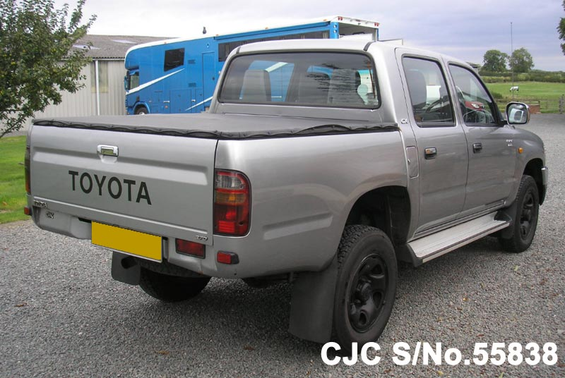 2002 toyota hilux truck for sale stock no 55838 japanese used cars exporter. Black Bedroom Furniture Sets. Home Design Ideas