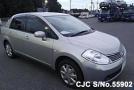 2007 Nissan / Tiida Latio Stock No. 55902