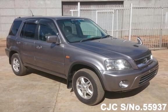 2001 honda crv silver for sale stock no 55937 japanese used cars exporter. Black Bedroom Furniture Sets. Home Design Ideas