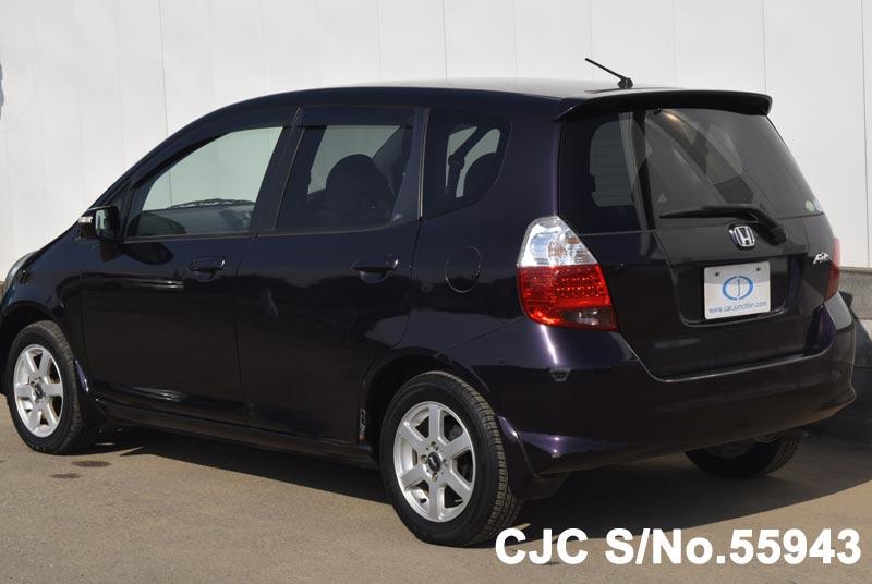 2007 Honda Fit/Jazz Purple for sale | Stock No. 55943 ...