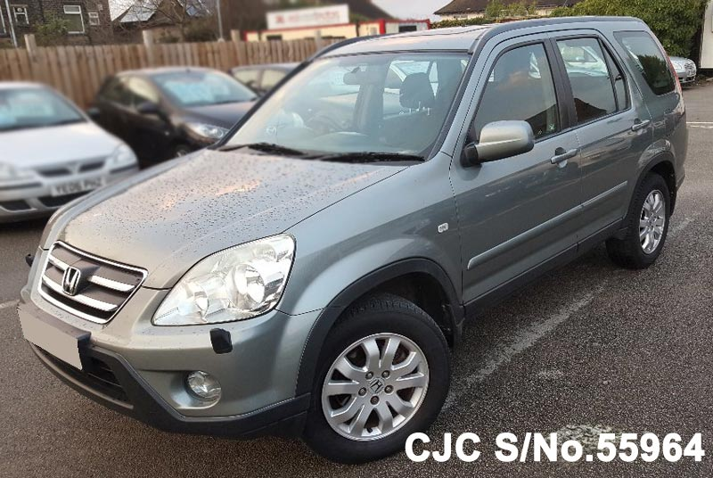 2005 honda crv gray for sale stock no 55964 japanese for Gray honda crv