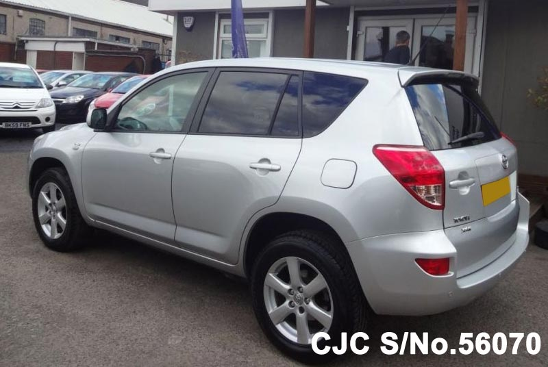 2009 toyota rav4 silver for sale stock no 56070 japanese used cars exporter. Black Bedroom Furniture Sets. Home Design Ideas