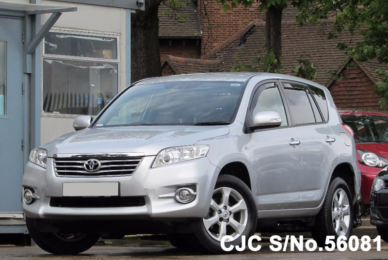 2011 toyota rav4 silver for sale stock no 56081 japanese used cars exporter. Black Bedroom Furniture Sets. Home Design Ideas