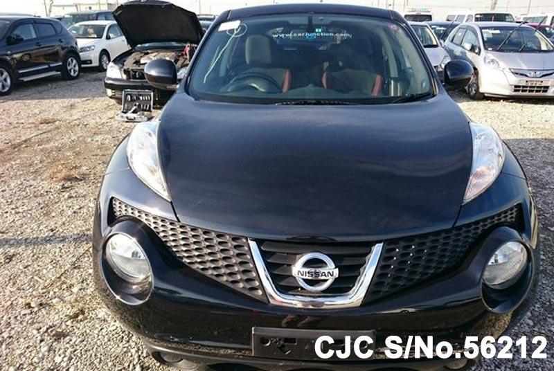 2012 nissan juke black for sale stock no 56212 japanese used cars exporter. Black Bedroom Furniture Sets. Home Design Ideas