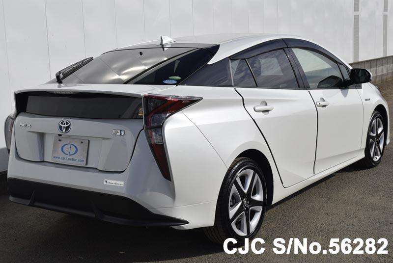 Used Toyota Prius For Sale >> 2016 Toyota Prius Hybrid White for sale | Stock No. 56282 ...
