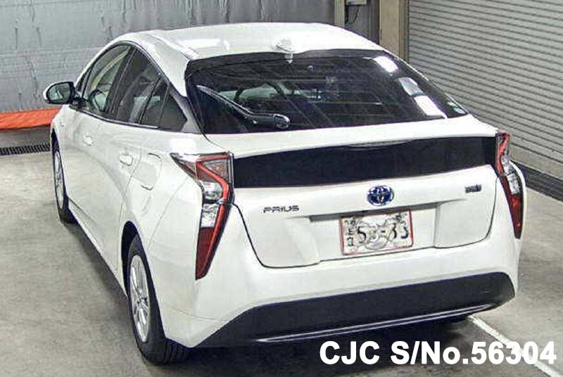 brand new 2016 toyota prius hybrid white for sale stock