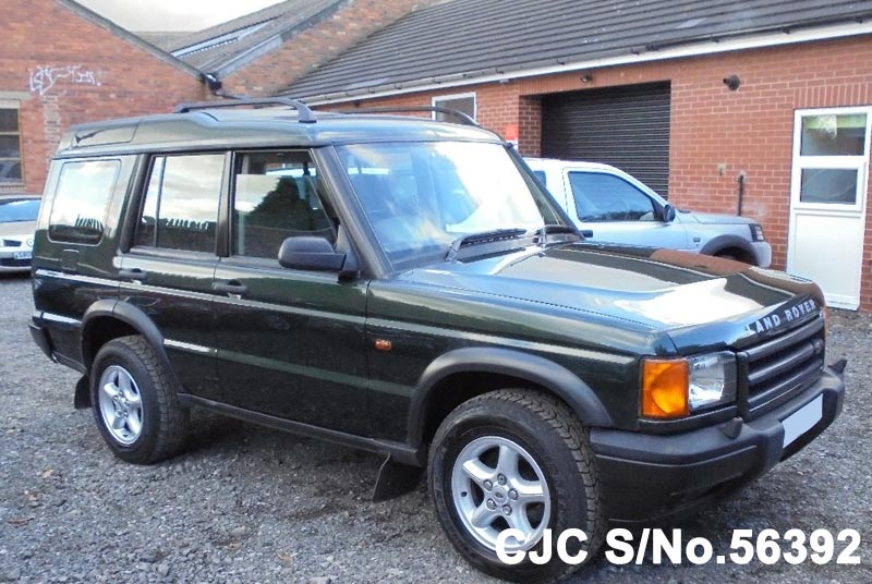 2001 land rover discovery green metallic for sale stock no 56392 japanese used cars exporter. Black Bedroom Furniture Sets. Home Design Ideas
