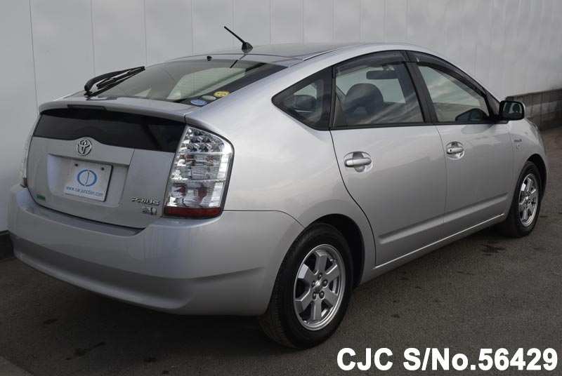2009 toyota prius hybrid silver for sale stock no 56429 japanese used cars exporter. Black Bedroom Furniture Sets. Home Design Ideas