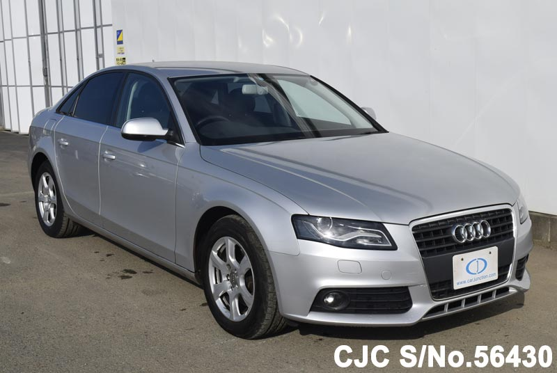 2010 Audi A4 Silver For Sale Stock No 56430 Japanese Used
