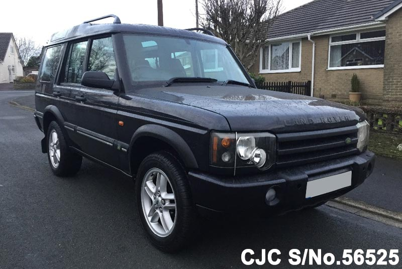 2004 land rover discovery blue for sale stock no 56525 japanese used cars exporter. Black Bedroom Furniture Sets. Home Design Ideas