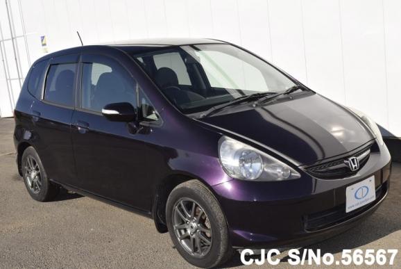 2008 honda fit jazz purple for sale stock no 56567 for Purple honda fit