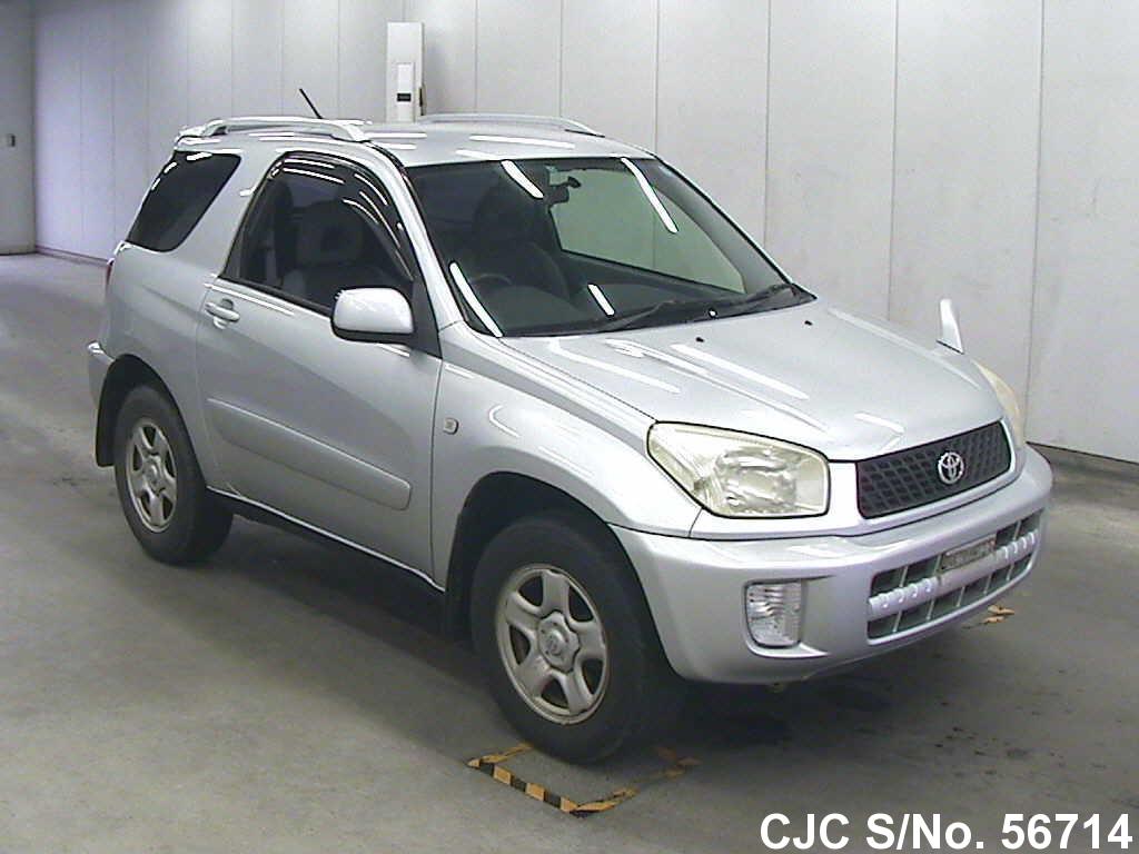 2001 toyota rav4 silver for sale stock no 56714 japanese used cars exporter. Black Bedroom Furniture Sets. Home Design Ideas