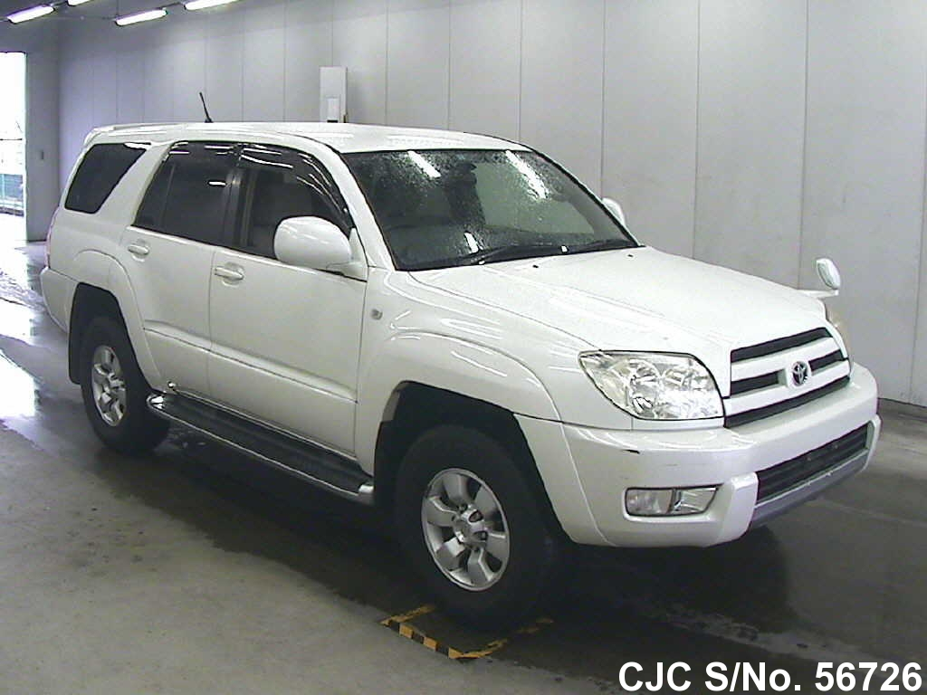 2004 toyota hilux surf 4runner pearl for sale stock no. Black Bedroom Furniture Sets. Home Design Ideas