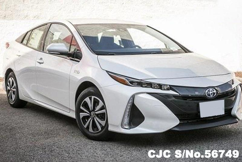 brand new 2017 left hand toyota prius prime pearl for sale stock no 56749 left hand used. Black Bedroom Furniture Sets. Home Design Ideas