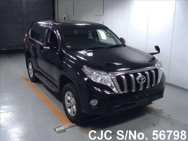 2014 toyota land cruiser prado black for sale stock no 56798 japanese used cars exporter. Black Bedroom Furniture Sets. Home Design Ideas