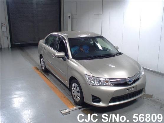 2013 Toyota / Corolla Axio Stock No. 56809