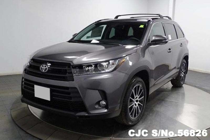 Brand new 2017 left hand toyota highlander predawn gray mica for sale stock no 56826 left