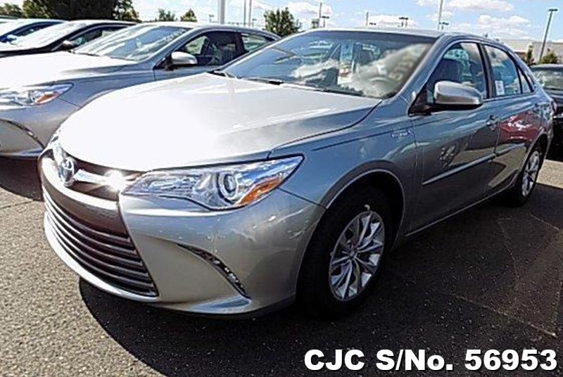 brand new 2017 left hand toyota camry celestial silver metallic for sale stock no 56953. Black Bedroom Furniture Sets. Home Design Ideas