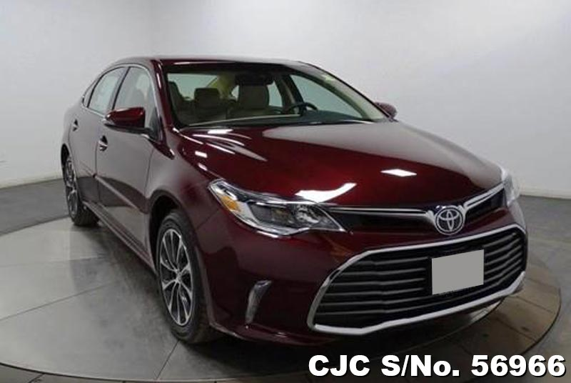 brand new 2017 left hand toyota avalon rouge mica for sale stock no 56966 left hand used. Black Bedroom Furniture Sets. Home Design Ideas
