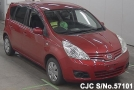 2008 Nissan / Note Stock No. 57101