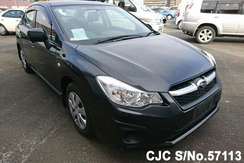 2012 subaru impreza g4 gun metallic for sale stock no 57113 japanese used cars exporter. Black Bedroom Furniture Sets. Home Design Ideas