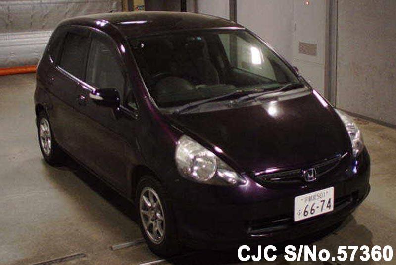 2007 honda fit jazz purple for sale stock no 57360 for Purple honda fit